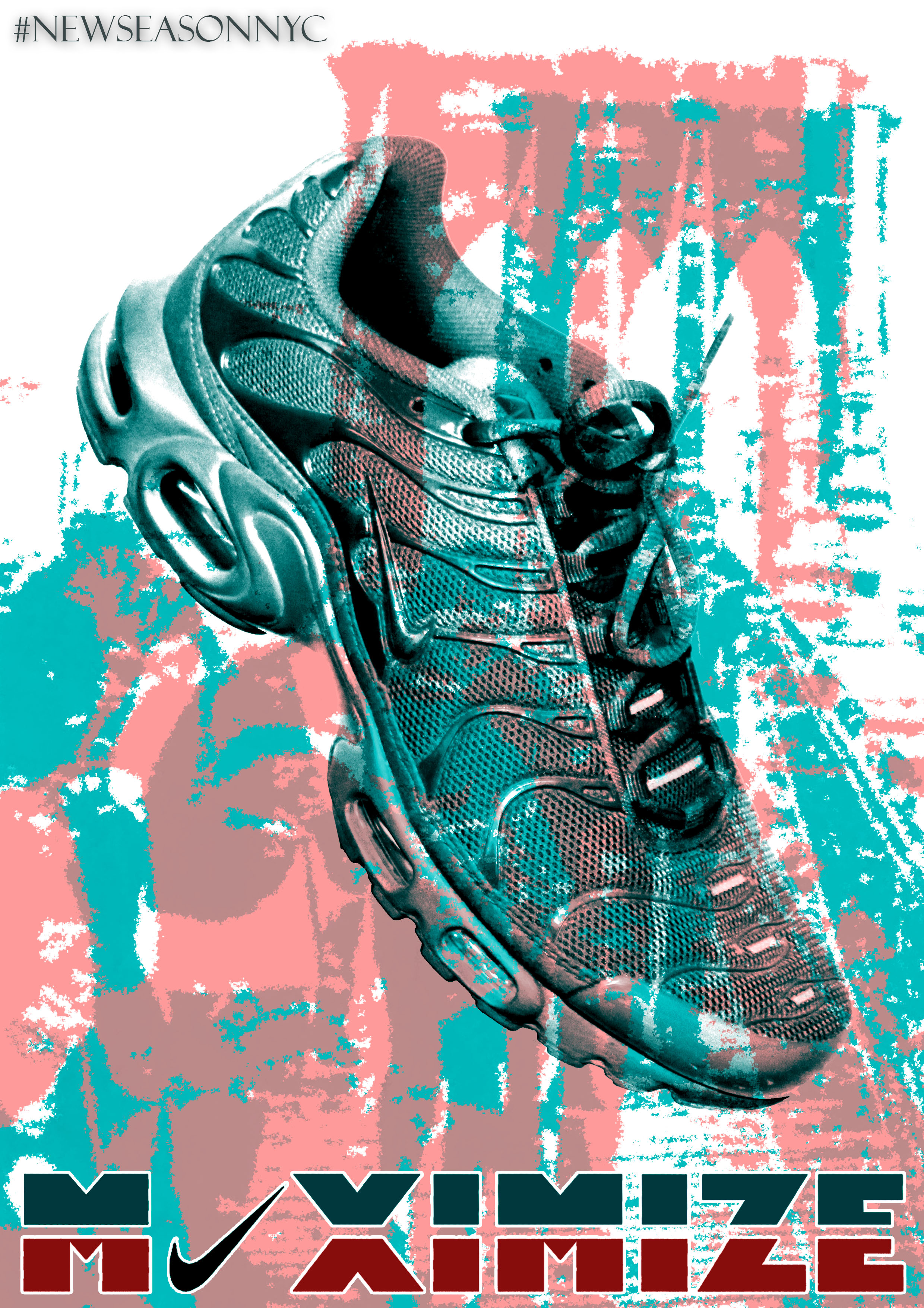 bf4a973f9fa238 Nike Inspired Poster Design | Amy Winson