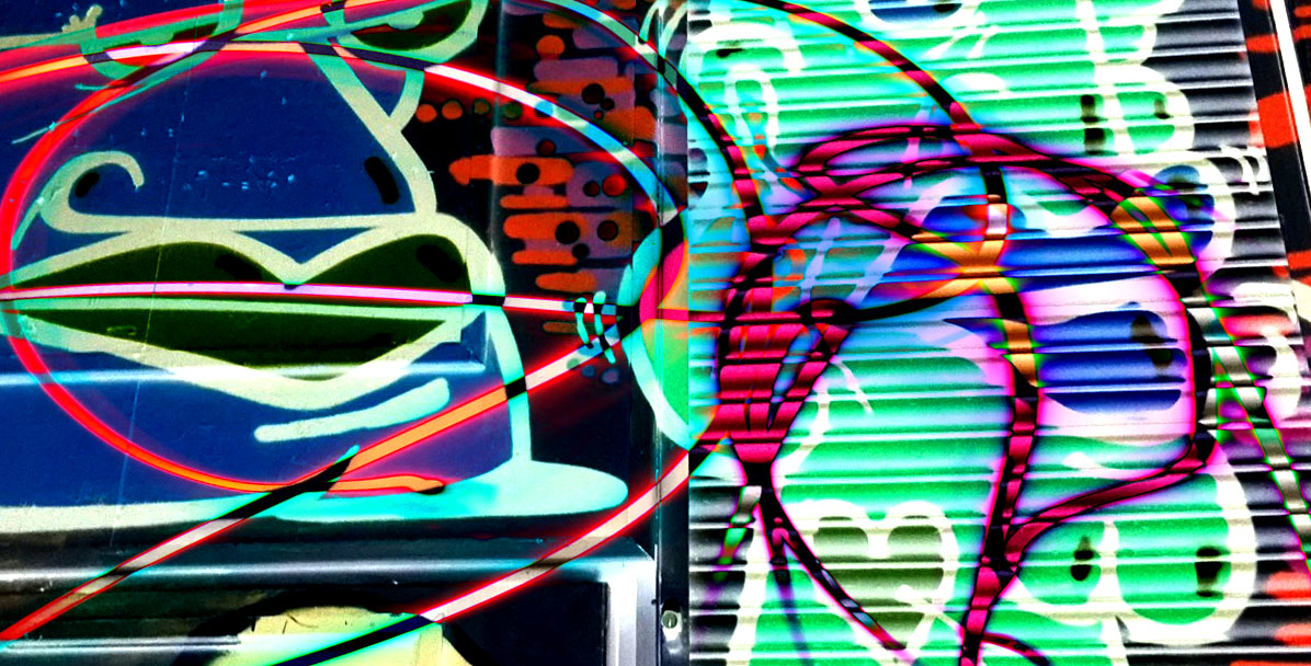Vibrant - Graffiti Photography