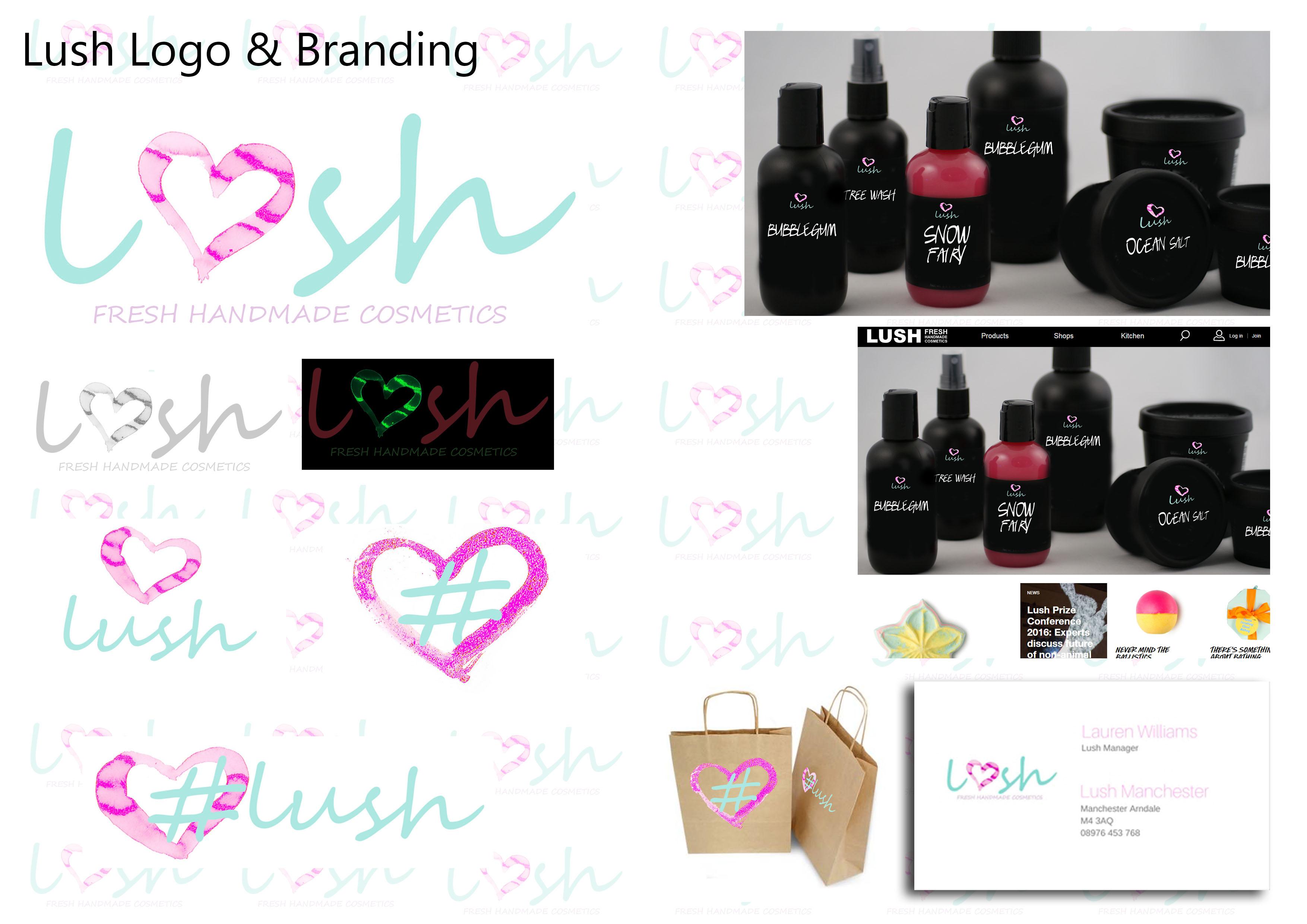 Lush Logo Rebrand Concept