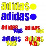 Adidas Kids Logo Creation