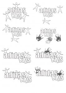 Adidas Kids Logo Creation