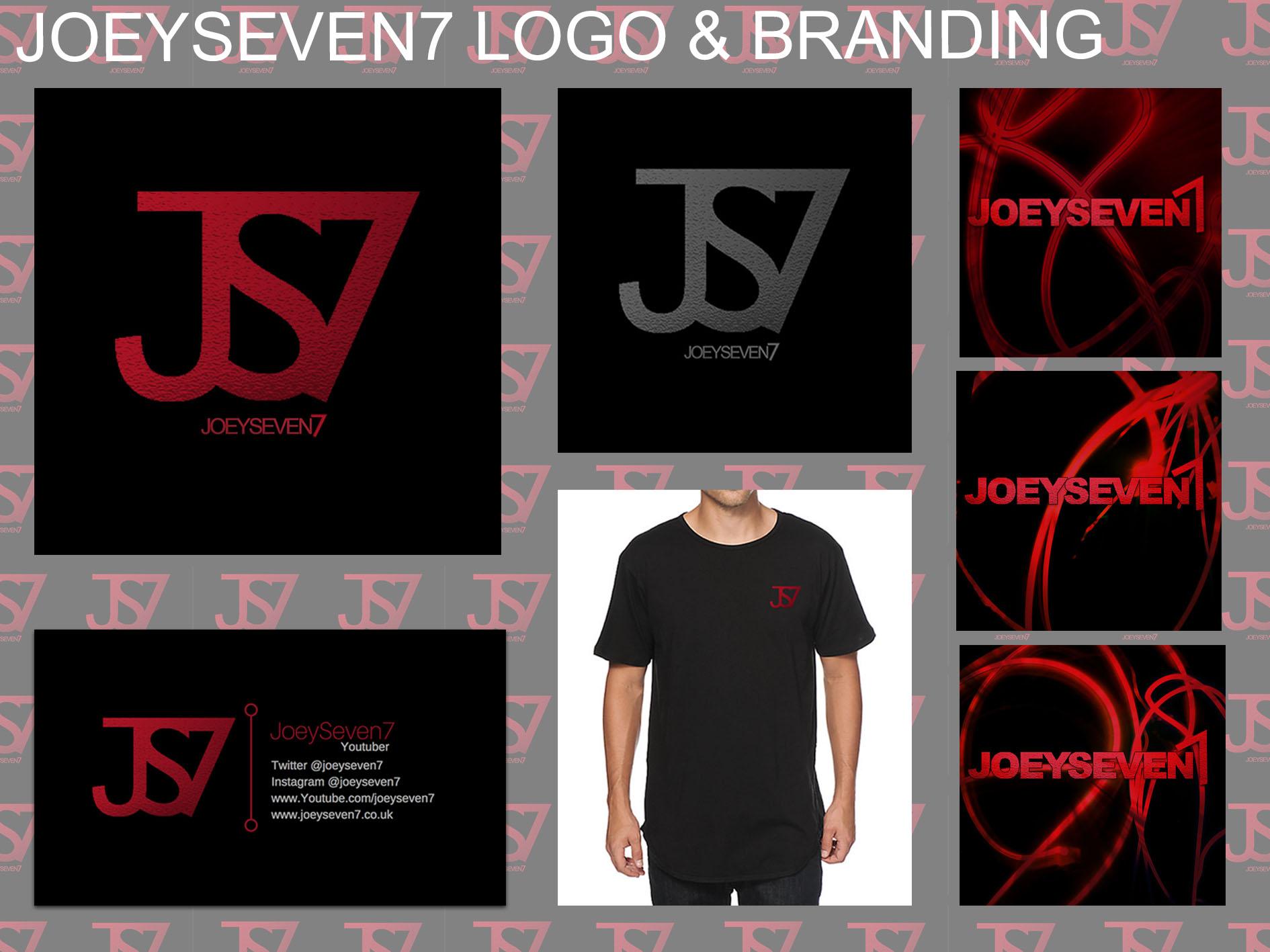JOEYSEVEN7 Logo and Branding