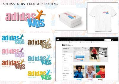 Adidas Kids Logo Design