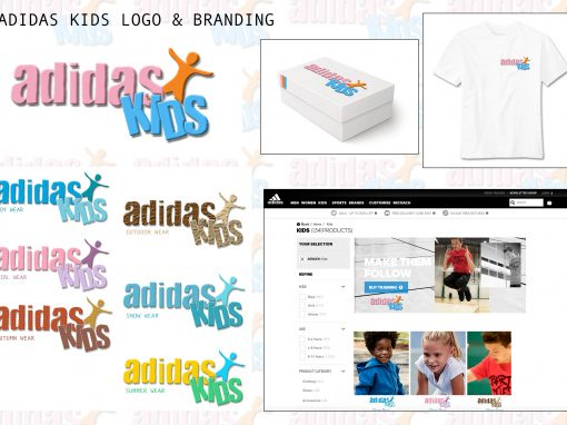 Adidas Kids Logo Design