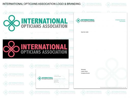 International Opticians Association – Logo & Branding