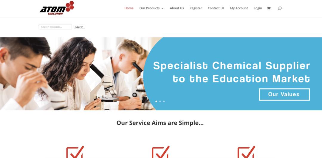 Atom Education Website