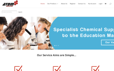 Atom Education Website