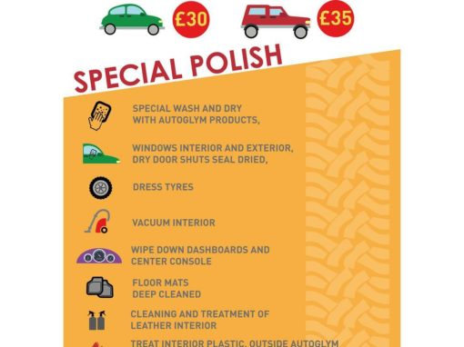 Freelance Work – Car Valeting Signage