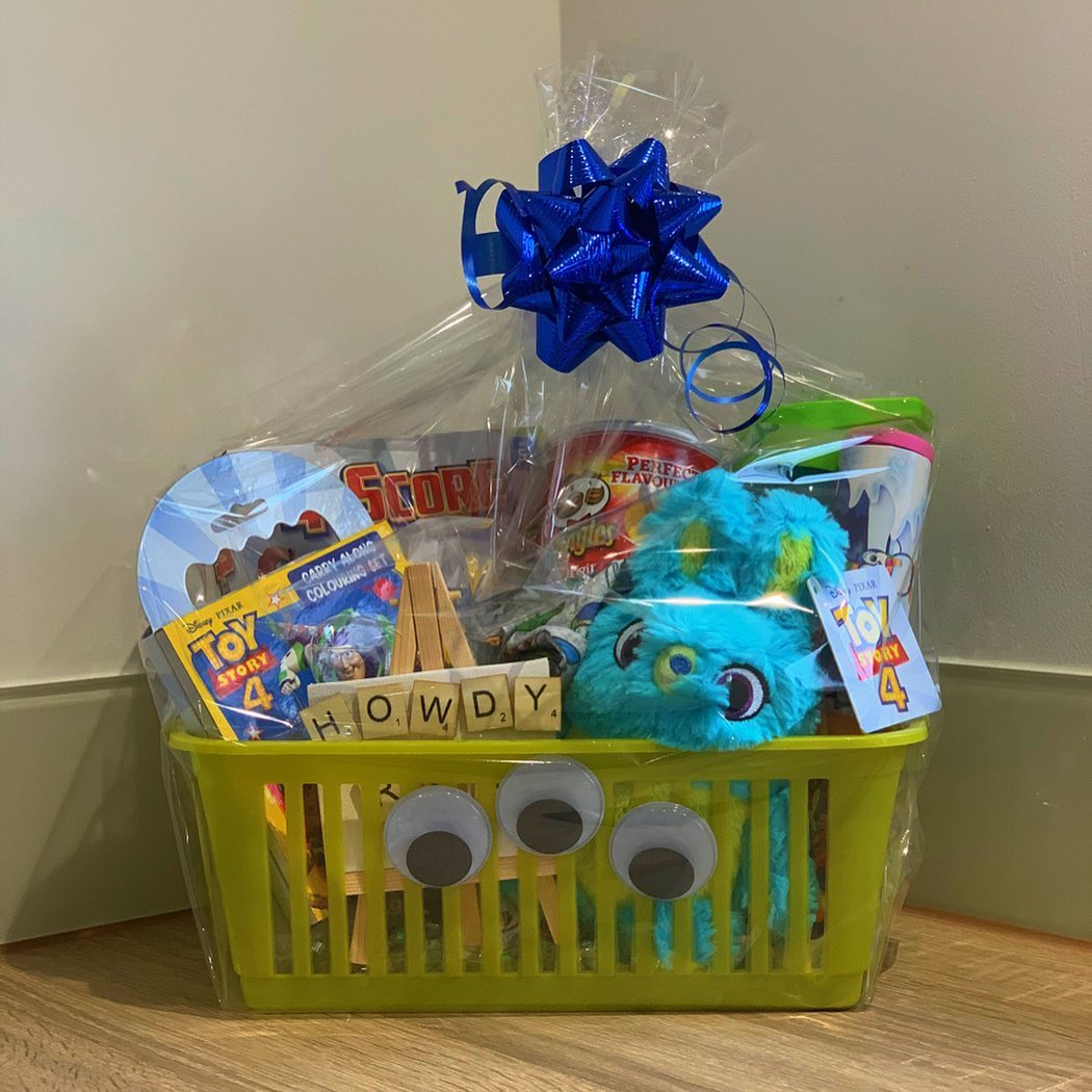 TOY STORY THEMED AIRPLANE BASKETS