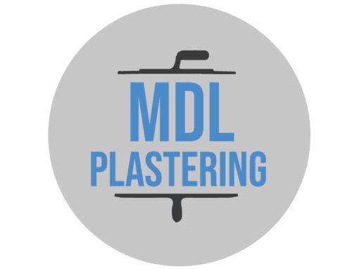 MDL Plastering – Logo Design