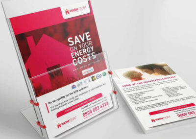 Warmfront Ltd – Leaflet Design