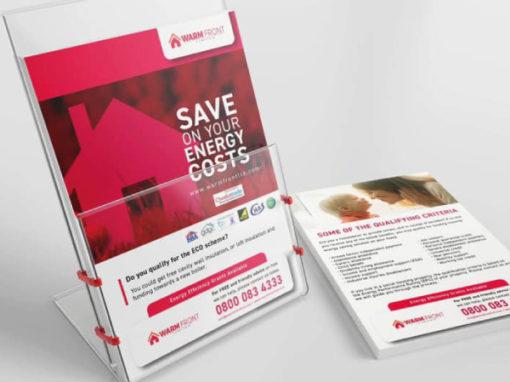 Warmfront Ltd – Leaflet Design