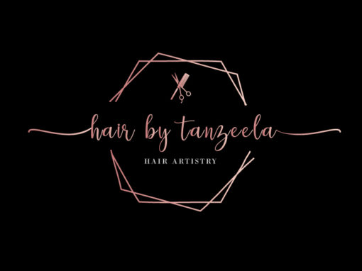 Hair by Tanzeela Logo & Branding
